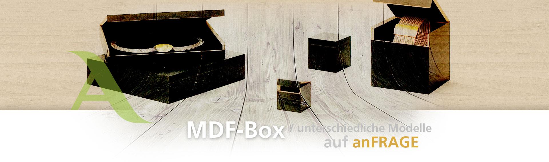 LiGNURA MDF WoodBox - picadesign
