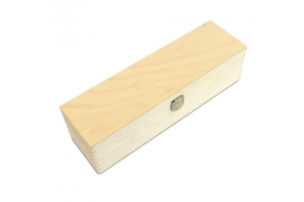 Holzkiste ohne Aufdruck